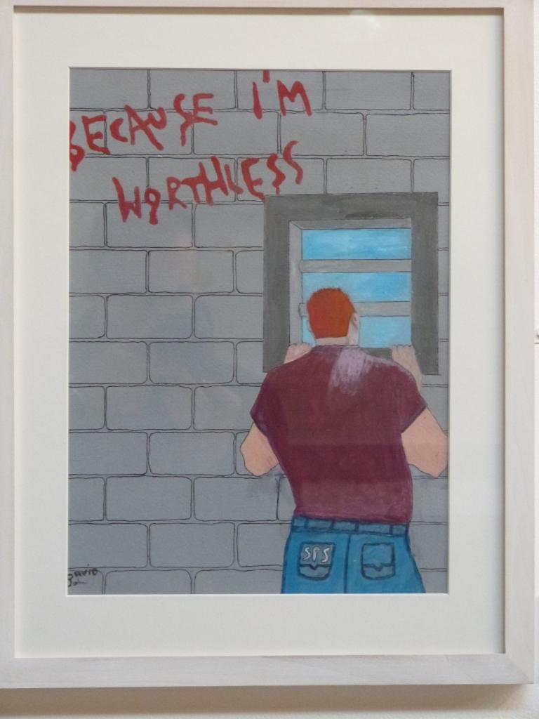 Self Worth by David, HMP Dumfries.