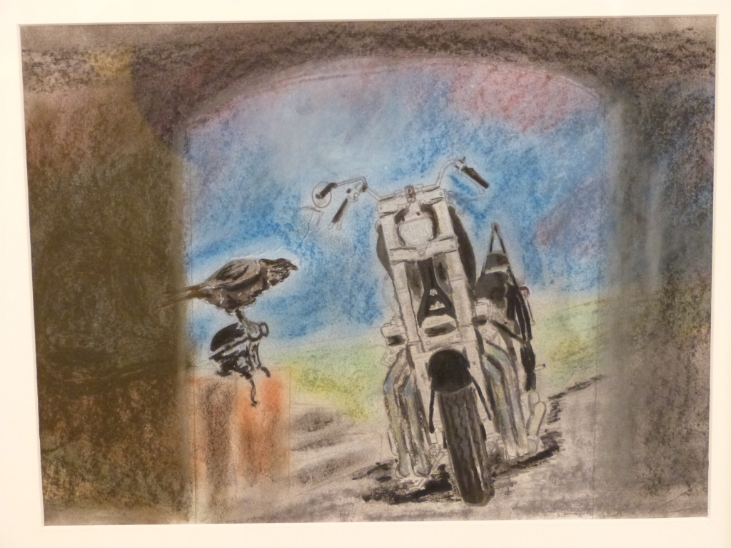 Motorcycle by James, HMP Glenochil.